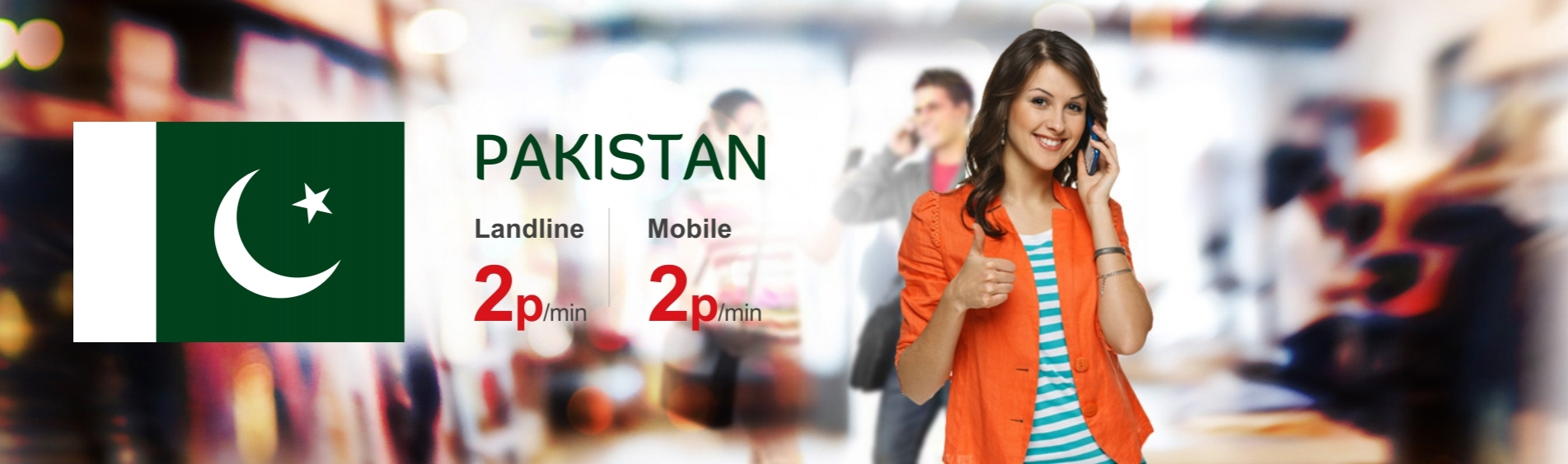 Best Calling Rates for Pakistan